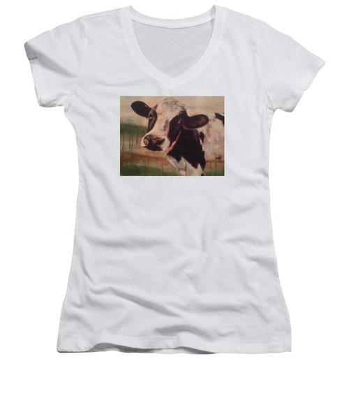Sally Women's V-Neck T-Shirt