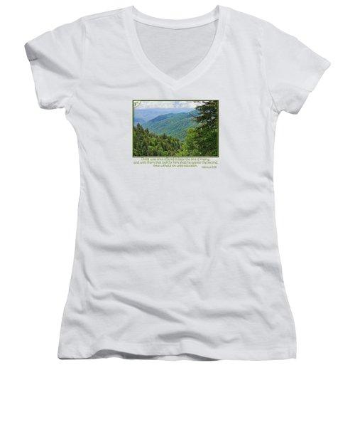 Salvation Eternal Women's V-Neck T-Shirt