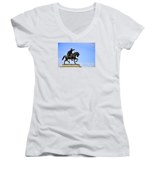 Sam Houston Women's V-Neck T-Shirt