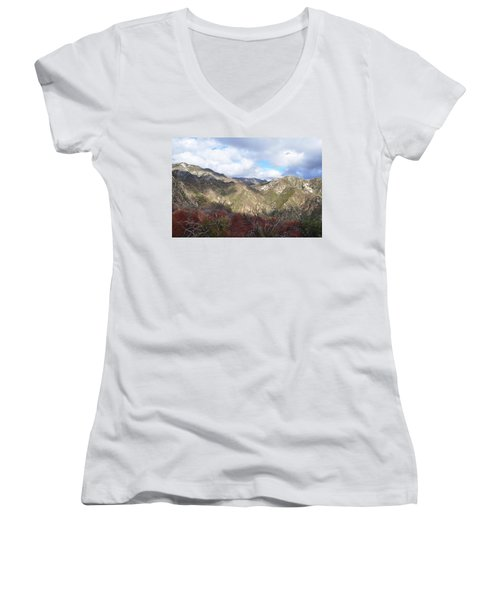 San Gabriel Mountains National Monument Women's V-Neck