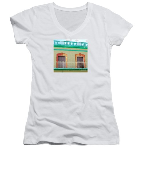 San Jose Del Cabo Doors 11 Women's V-Neck T-Shirt