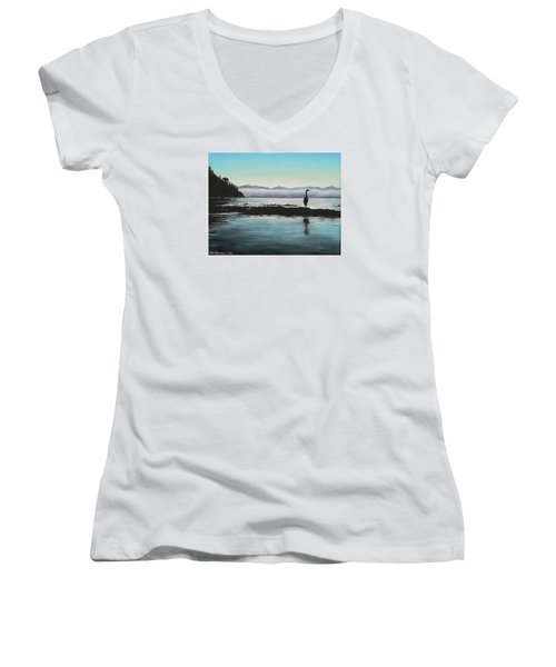 San Juan Sentinel Women's V-Neck T-Shirt