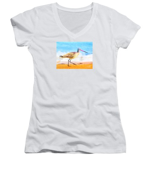 Sand Between My Toes ... Women's V-Neck T-Shirt