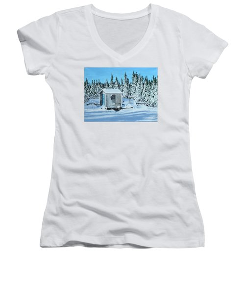 Sawmill Women's V-Neck (Athletic Fit)
