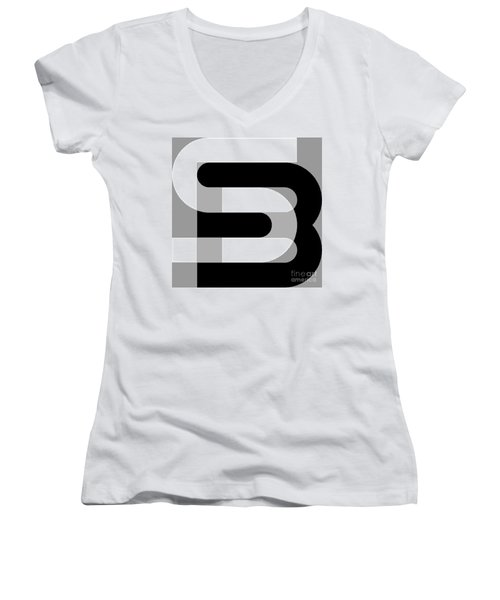 sb Women's V-Neck (Athletic Fit)
