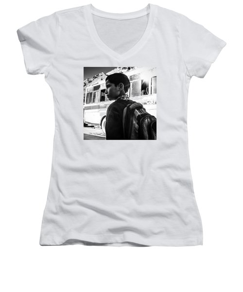 School Boy Women's V-Neck