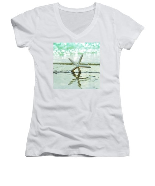 Sea Star Women's V-Neck (Athletic Fit)