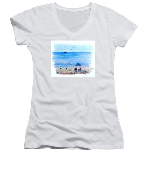 Seagulls Women's V-Neck