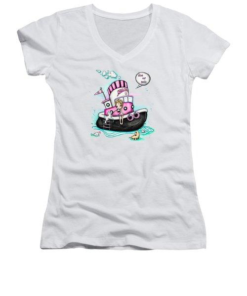 Seal Love Women's V-Neck T-Shirt