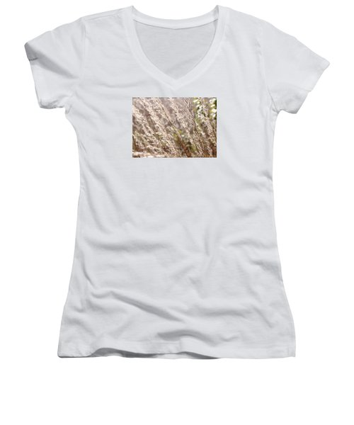 Seeds Of Autumn Women's V-Neck T-Shirt (Junior Cut) by Tim Good