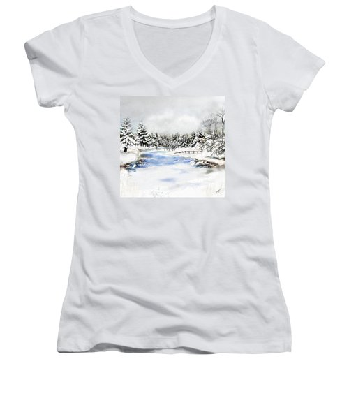 Seeley Montana Winter Women's V-Neck