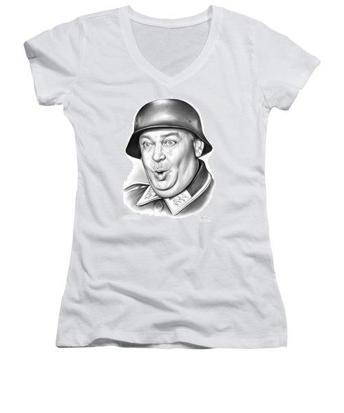 Sgt Schultz Women's V-Neck