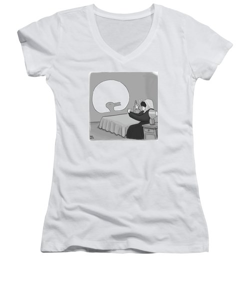 Shadow Puppet Women's V-Neck