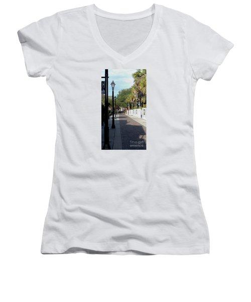 Shady Hypolita Street Women's V-Neck T-Shirt