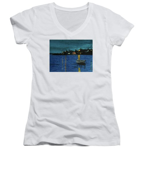 Sheshatshiu Women's V-Neck T-Shirt