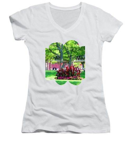 Shirts N Pod Gifts Boston N Surrounding Area Nature Photography By Navinjoshi Fineartamerica Pixles Women's V-Neck (Athletic Fit)