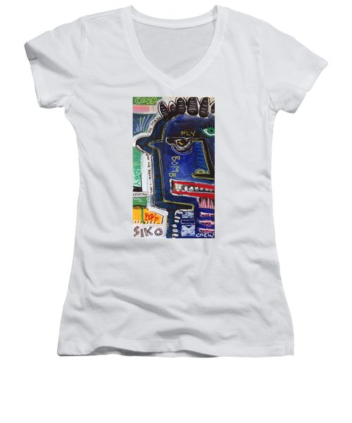Sicko Women's V-Neck (Athletic Fit)
