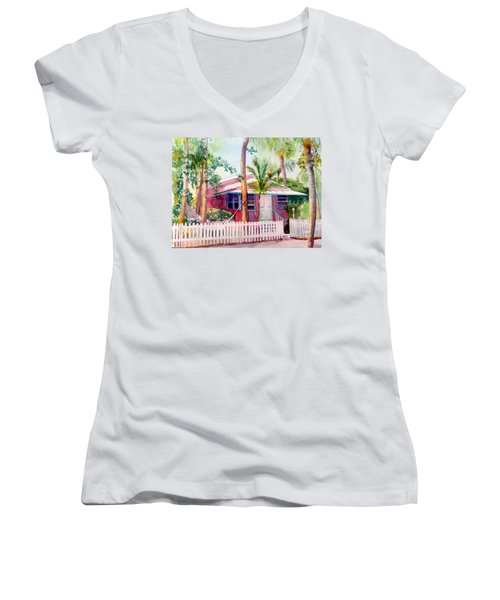 Siesta Key Cottage Women's V-Neck