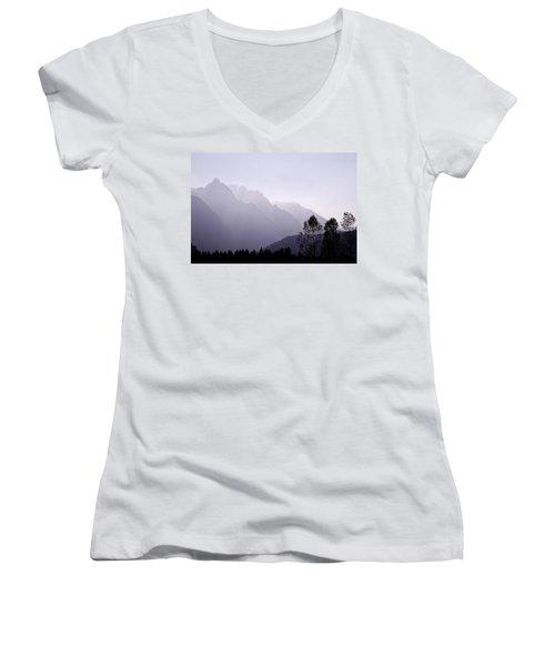 Silhouette Austria Europe Women's V-Neck T-Shirt