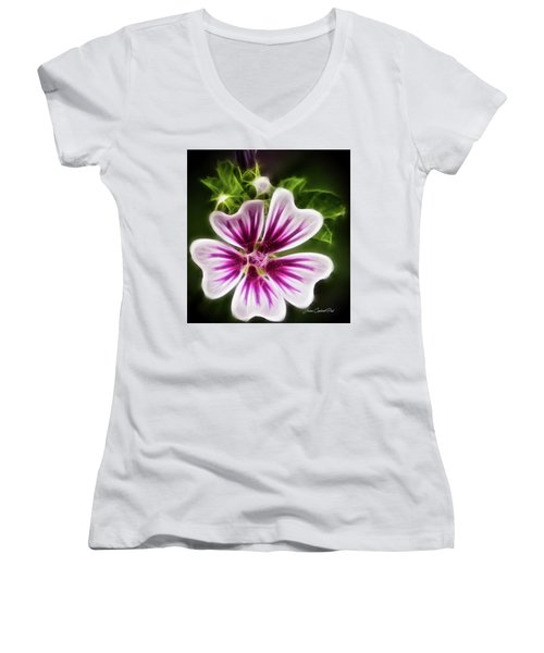 Simple Beauty Women's V-Neck T-Shirt