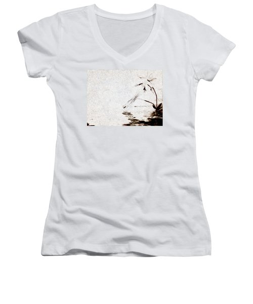 Simple Reflections Women's V-Neck