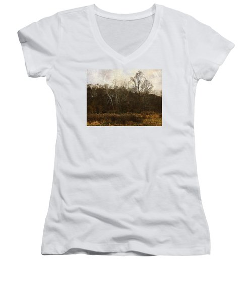 Sing To Me Autumn Women's V-Neck (Athletic Fit)