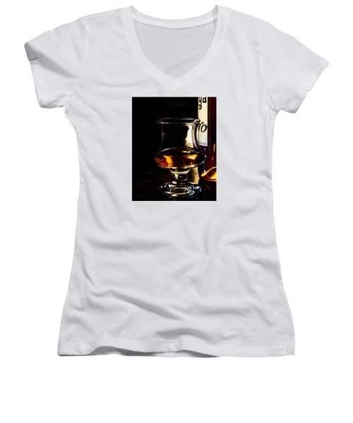 Sipping Rum Women's V-Neck (Athletic Fit)