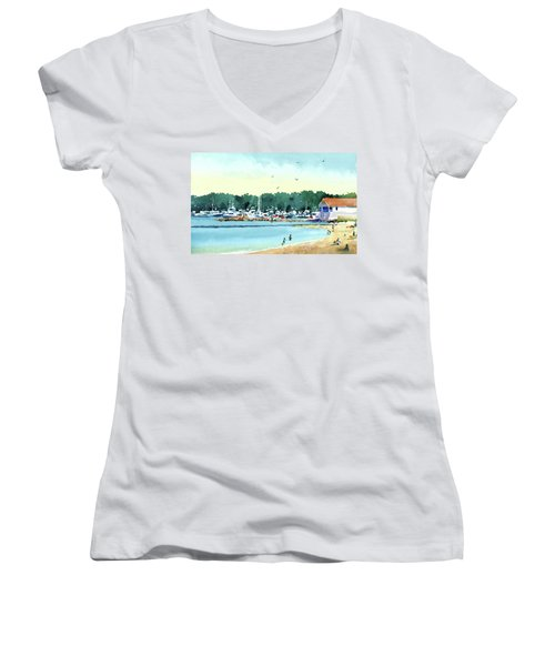 Sister Bay, Door County Women's V-Neck