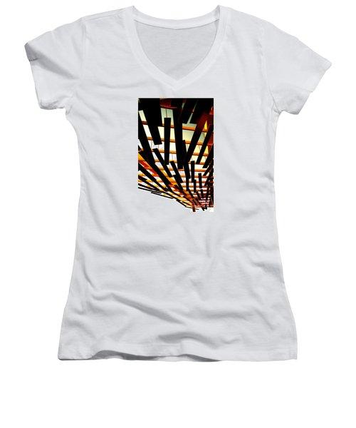 Sky Chasm Women's V-Neck T-Shirt