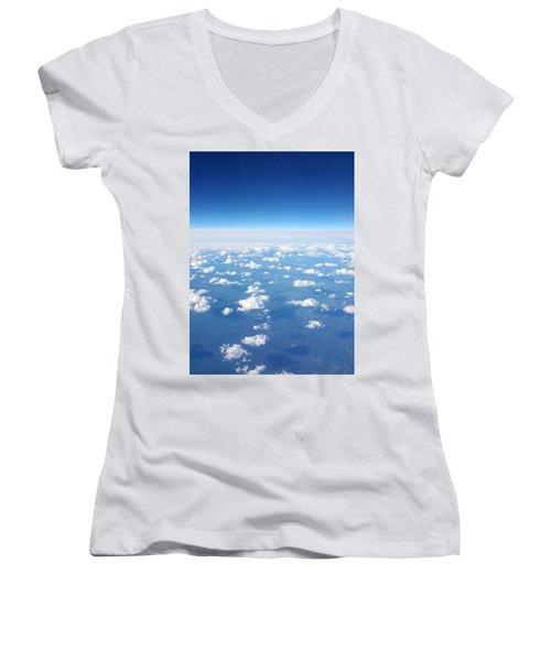 Sky Life Women's V-Neck T-Shirt