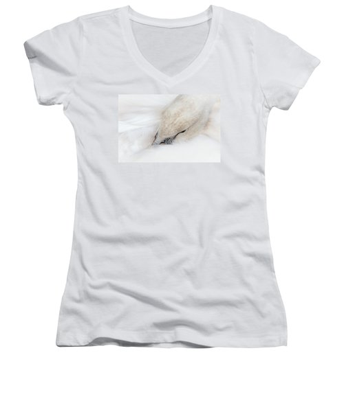 Waking Up Women's V-Neck (Athletic Fit)