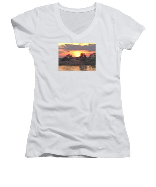 Slowly Sinking Women's V-Neck T-Shirt