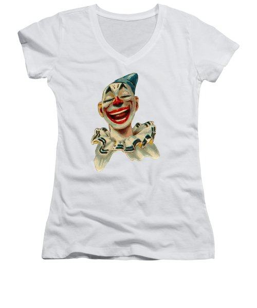 Smiley Women's V-Neck