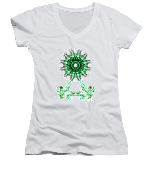 Smoke Wheel Women's V-Neck