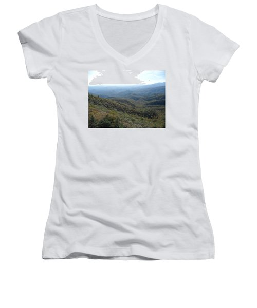 Smokies 20 Women's V-Neck (Athletic Fit)