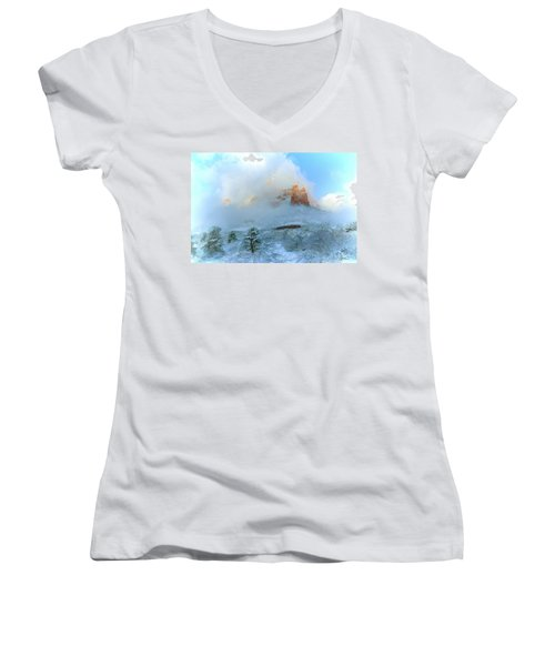 Snow 07-104 Women's V-Neck T-Shirt