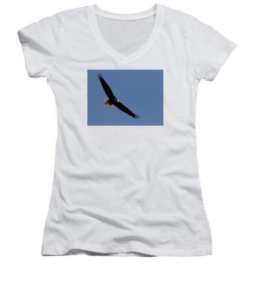 Soaring Eagle Women's V-Neck T-Shirt