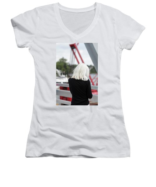 Soft Women's V-Neck T-Shirt