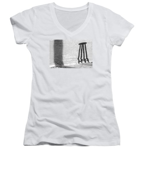Solar Structures I 2014 1 Of 1 Women's V-Neck T-Shirt