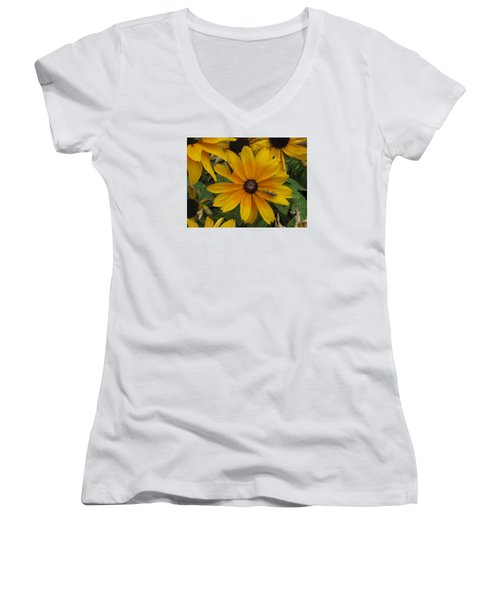 Soldiers On Patrol Women's V-Neck (Athletic Fit)