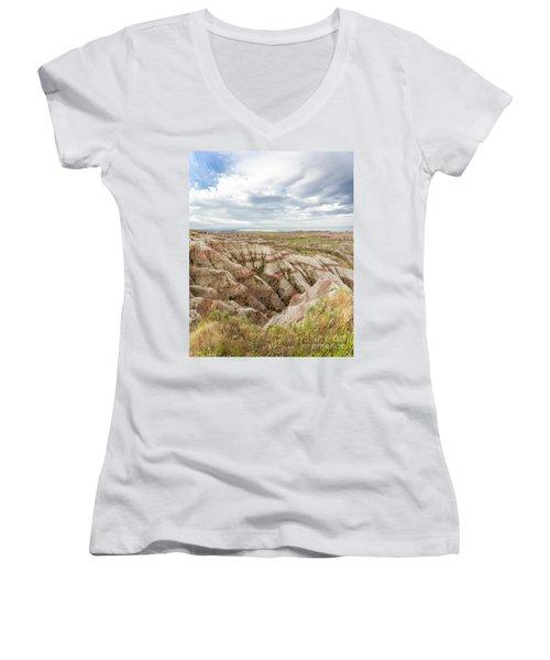 Solitary Road Women's V-Neck T-Shirt