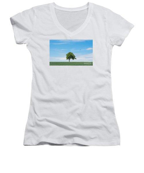Solo Tree Women's V-Neck