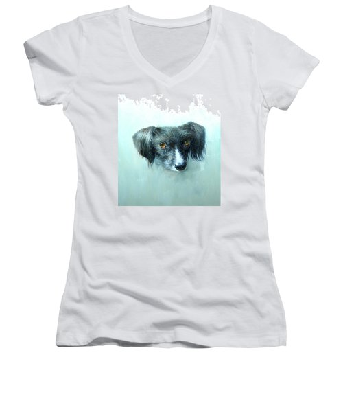 Someones Pet Women's V-Neck (Athletic Fit)