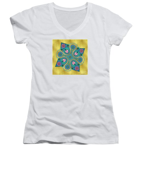Something3 Women's V-Neck T-Shirt