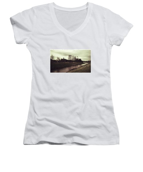 Sondershausen  #sondershausen Women's V-Neck T-Shirt