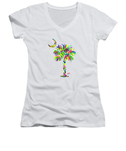 South Carolina Is Simply Amazing Women's V-Neck (Athletic Fit)