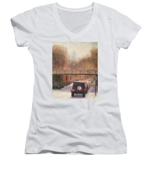 South On North Women's V-Neck T-Shirt