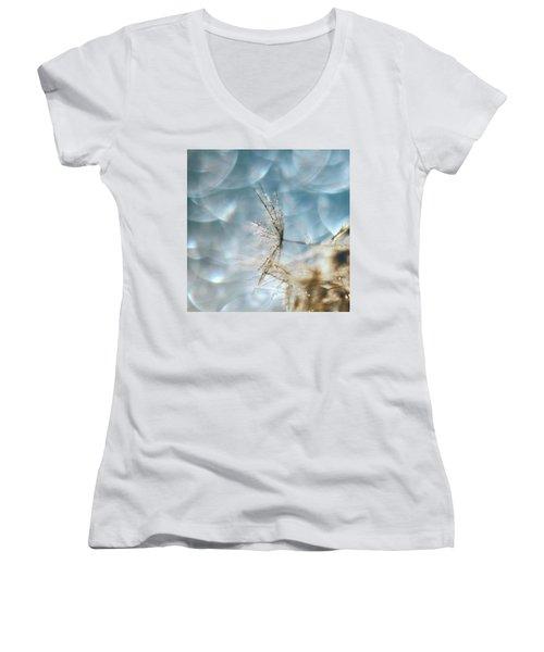 Sparkle Sparkle Women's V-Neck T-Shirt