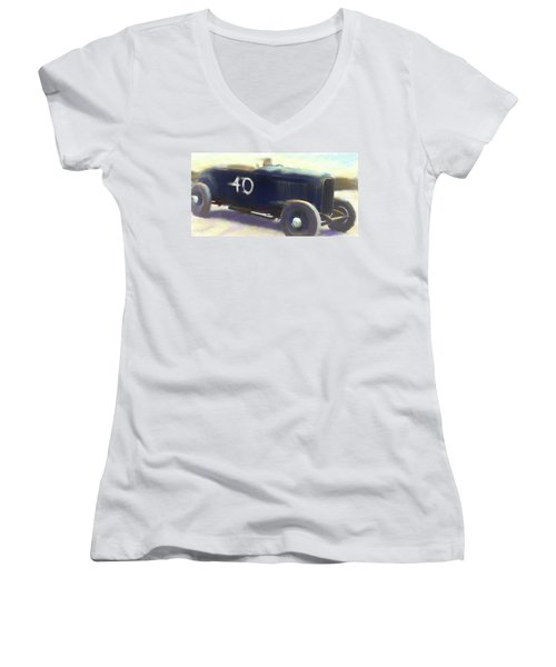 Speed Run Women's V-Neck