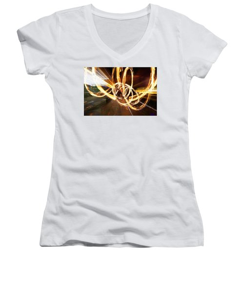 Speed Spin Women's V-Neck (Athletic Fit)